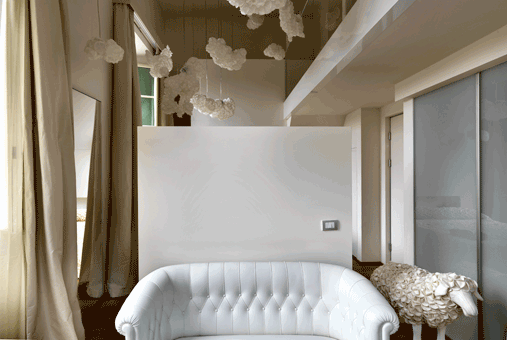 clouds bedroom nuvole maison moschino