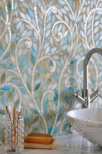 mosaic bathroom design 4 ideas
