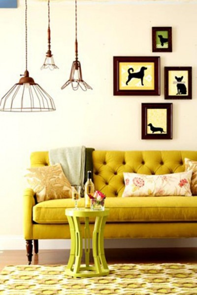 yellow living room ideas 5