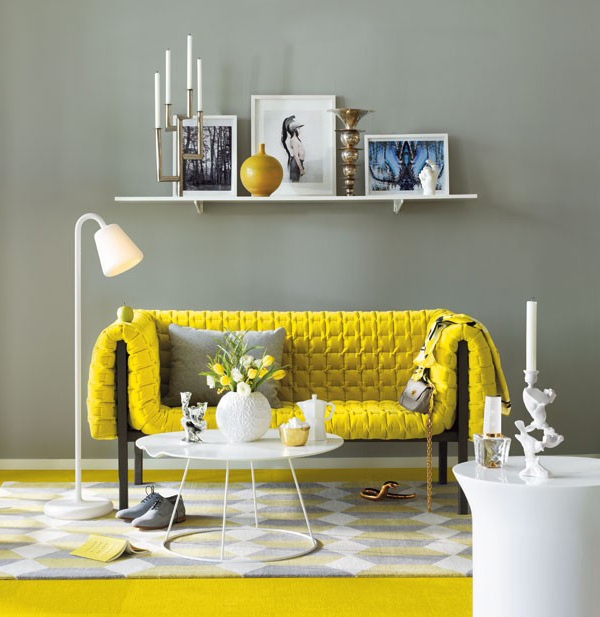 yellow and grey living room 4
