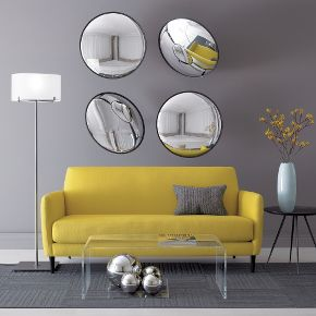 yellow and grey living room 3