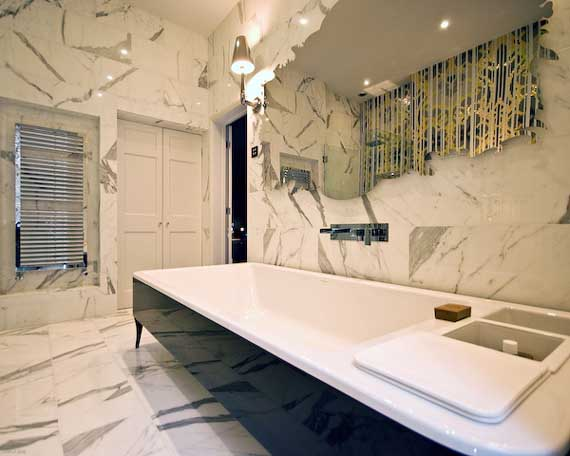 44 best luxury marble bathrooms for Small marble bathroom ideas