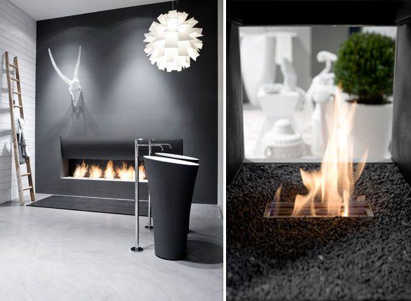 black bathroom interior design ideas 15