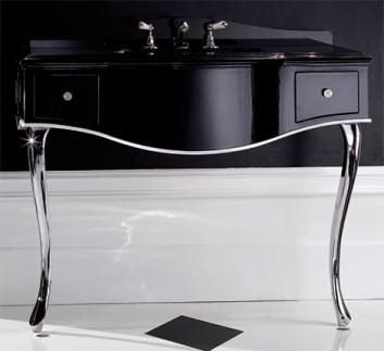 black bathroom interior design ideas 9