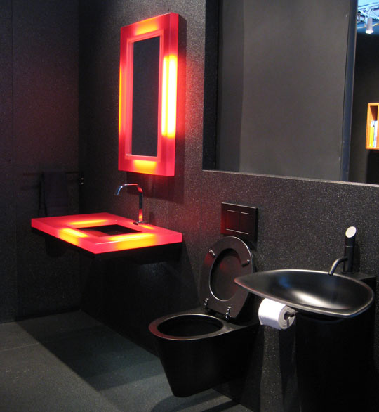 Black Bathroom Interior Design Ideas 6 Part 78