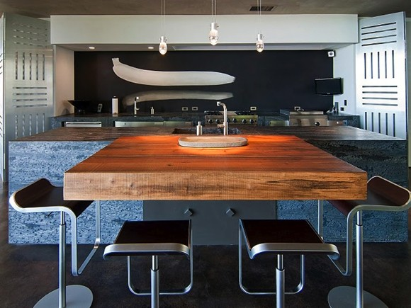 modern kitchen with island 2
