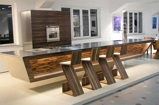 Contemporary Kitchens With Island