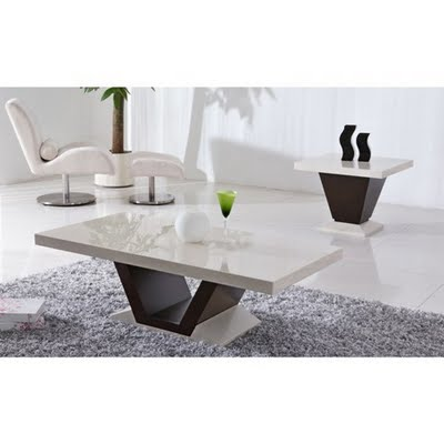 Modern marble coffee tables decoholic White marble coffee table