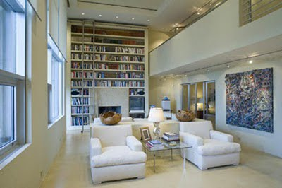 celebrity homes home libraries decoholic