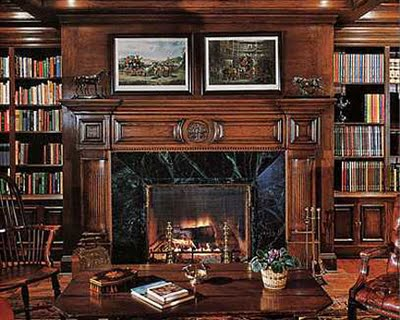 MichaeMichael Jackson's librarylJackson_celebrity_homes_interior_libraries_design_ideas
