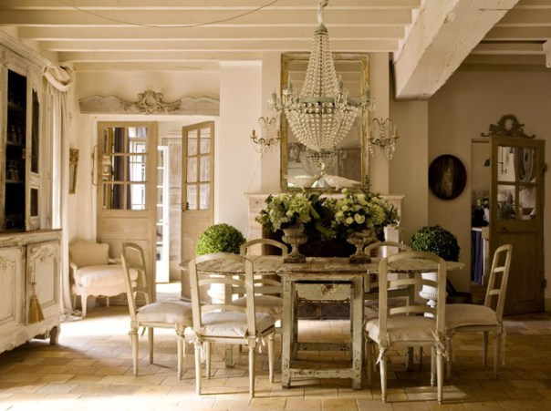 French style house decoholic for Decoration cottage maison