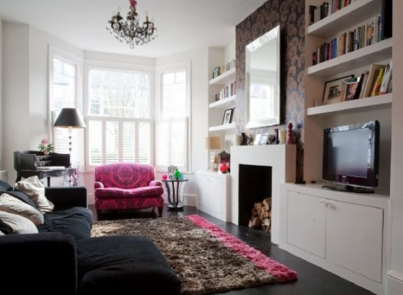 How to have a victorian style for living room designs for Edwardian living room ideas