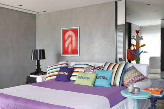 Colourfull Penthouse in Sao Paolo by Guillermo Torres 13