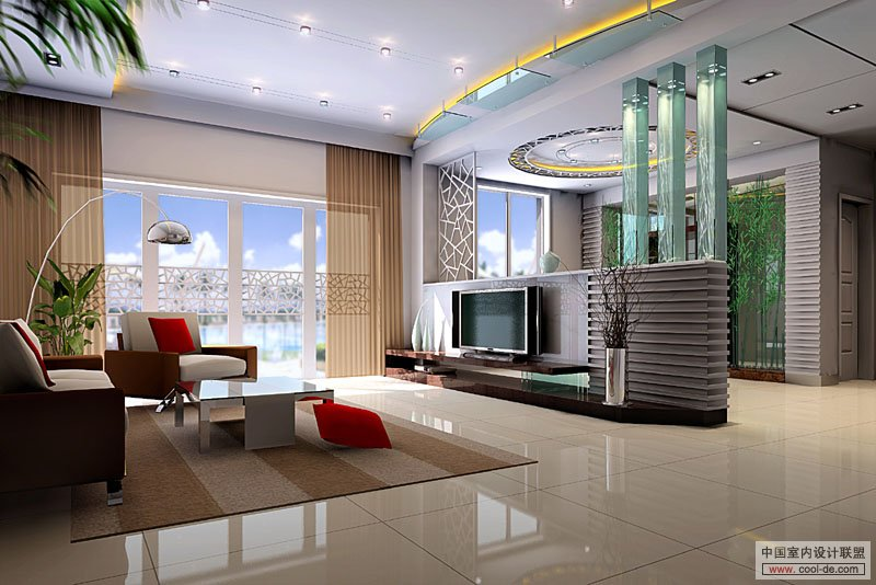 Modern living room design ideas - Contemporary modern home design ideas with decor ...