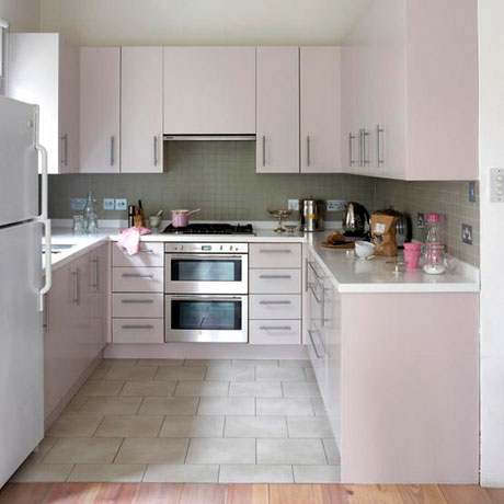 light pink kitchen decorating ideas
