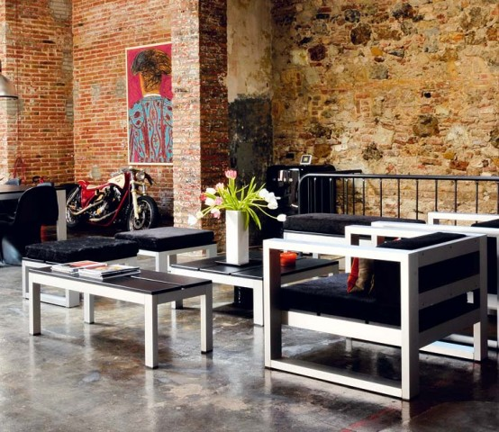 Modern Renovated Loft With Industrial Interior Design 2