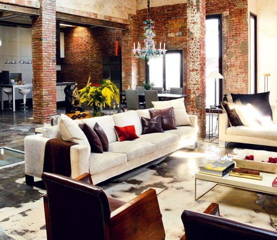 Modern Renovated Loft With Industrial Interior Design 4
