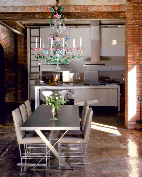Modern Renovated Loft With Industrial Interior Design 5