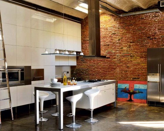Modern Renovated Loft With Industrial Interior Design 8