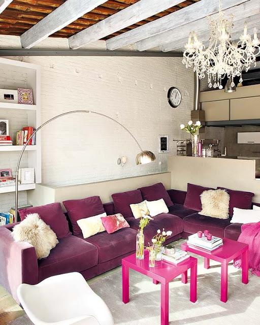 pink loft in barcelona 2