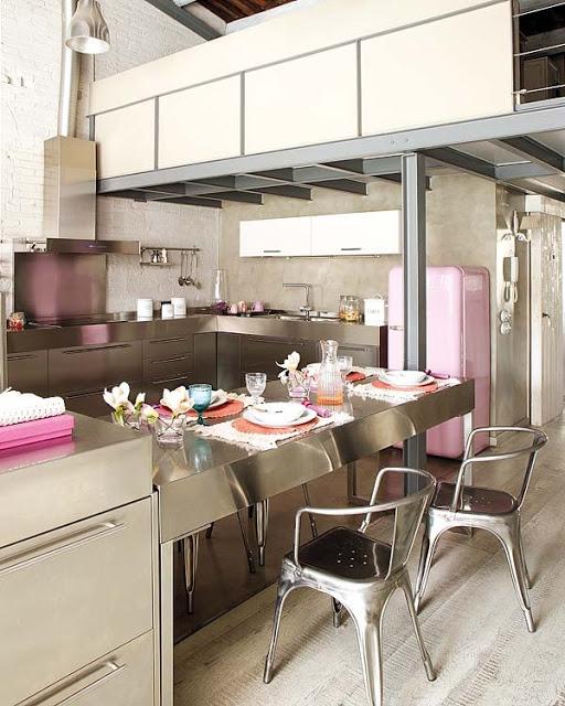 pink loft in barcelona 6