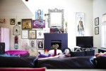Colorful Apartment interior design in London 2