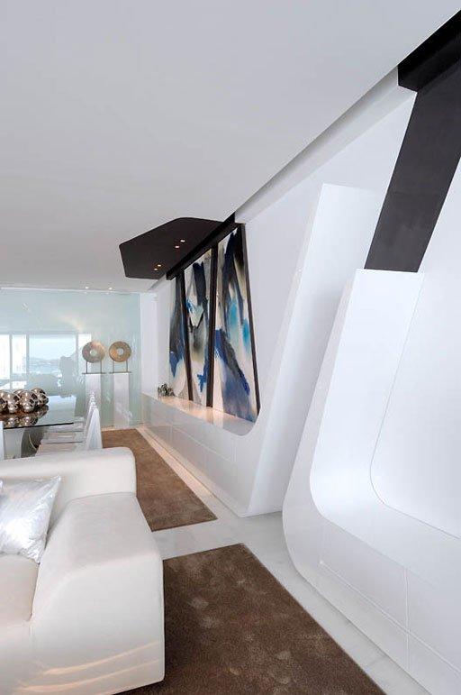Ultra Modern House in Ibiza By A-Cero  interior design 9