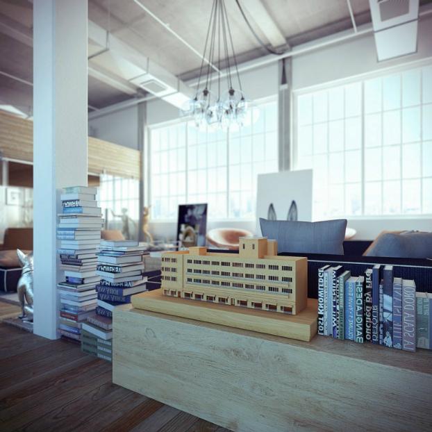 Industrial loft by ando-studio 4
