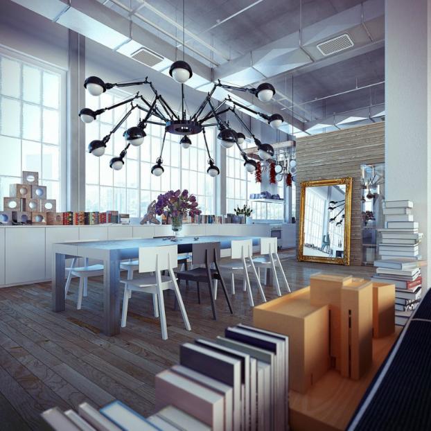 Industrial loft by ando-studio 5