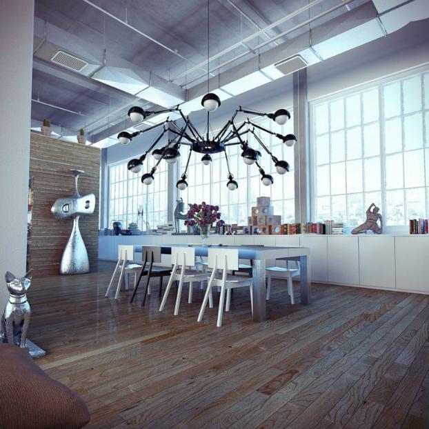 Industrial loft by ando-studio 6