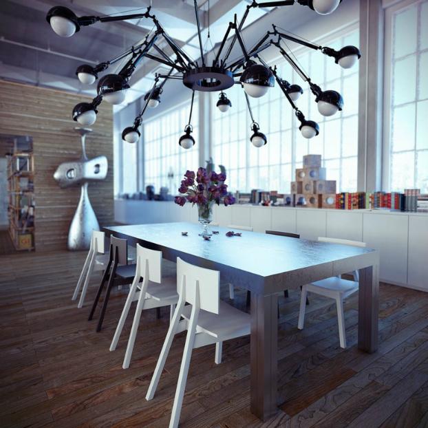 Industrial loft by ando-studio 7