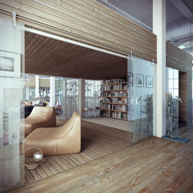 Industrial loft by ando-studio 9