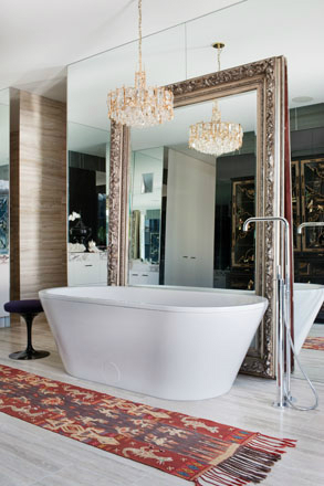 bathroom Melbourne Penthouse by David Hicks