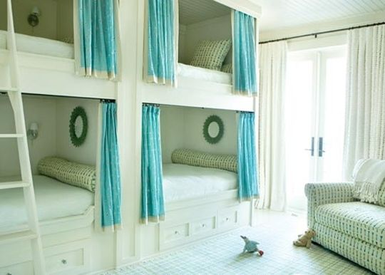 Four Kids One Room Bunk Beds modern design ideas 6