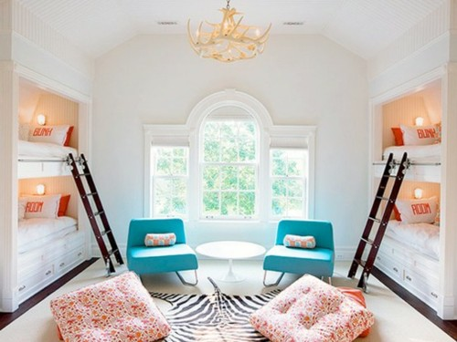 Four Kids One Room Bunk Beds modern design ideas 7