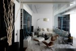 Black and White House by Geometrix interior Design 2