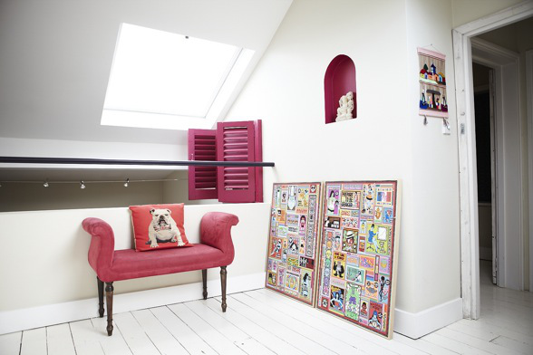 Colorful Apartment interior design in London 6