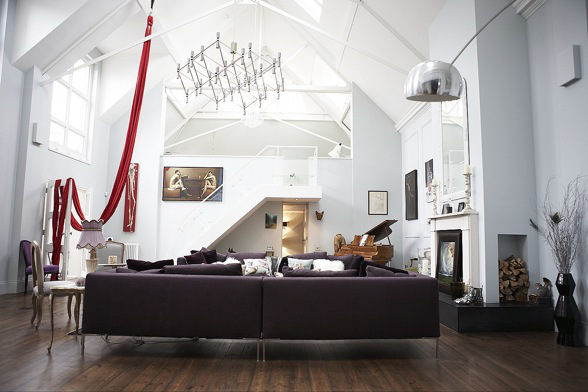 Unique House in London 8