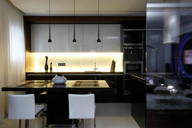 Black and White House by Geometrix interior Design 4