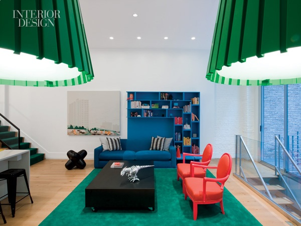 New York triplex by Ghislaine Viñas 2