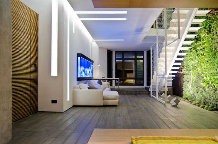 Loft Apartment in Ukraine and designed by 2B Group 10