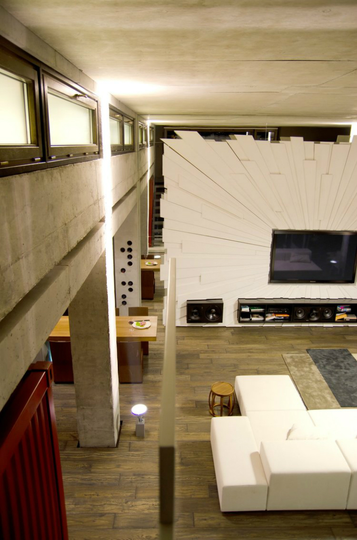 Loft Apartment in Ukraine and designed by 2B Group 13