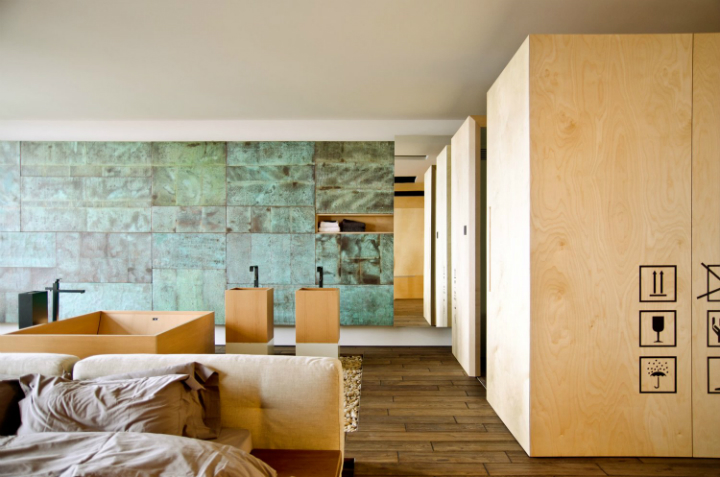 Loft Apartment in Ukraine and designed by 2B Group 17