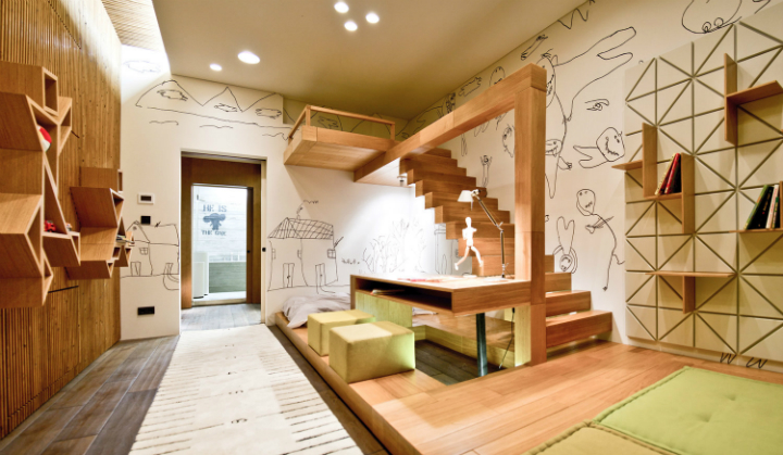 Loft Apartment in Ukraine and designed by 2B Group 19