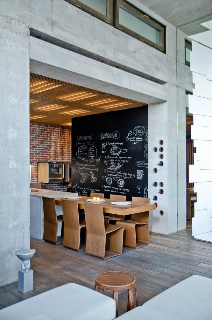 Loft Apartment in Ukraine and designed by 2B Group 4