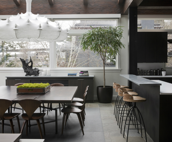 Art House contemporary kitchen and dining
