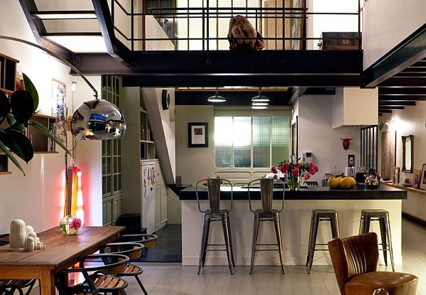 Cozy Loft in Paris by Isabelle Rouyer