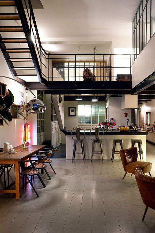 Cozy Loft in Paris by Isabelle Rouyer - Decoholic
