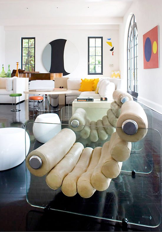 hamptons modern living room