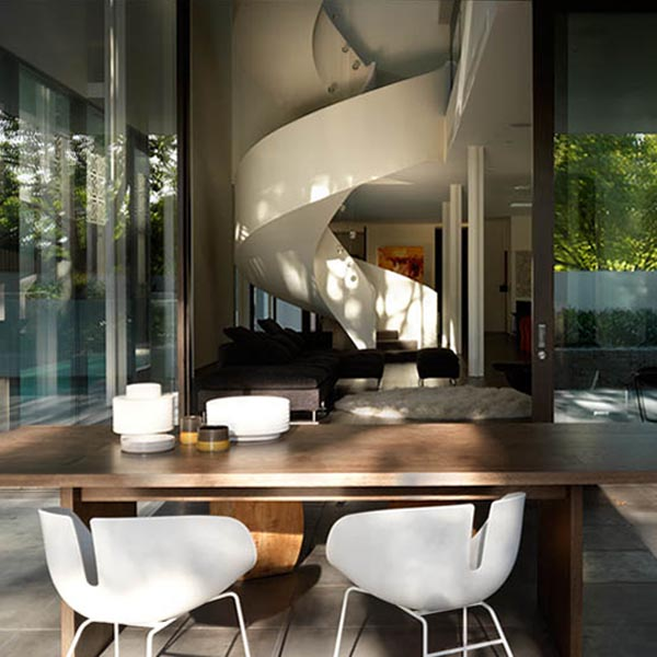 luxury home ideas The Verdant Avenue House by Robert Mills Architects 2